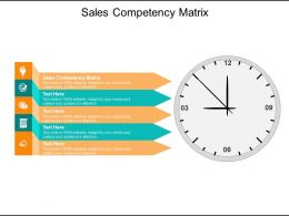 Sales Competency Matrix Ppt Powerpoint Presentation Outline Ideas Cpb