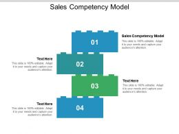 Sales Competency Model Ppt Powerpoint Presentation Outline Smartart Cpb