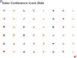 Sales Conference Icons Slide Ppt Powerpoint Presentation Gallery Example Topics