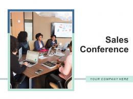 Sales Conference Presentation Business Representatives Entrepreneur Information