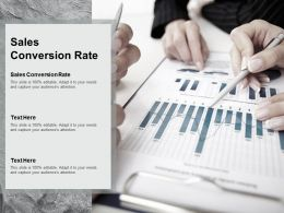 Sales Conversion Rate Ppt Powerpoint Presentation Infographics Background Image Cpb