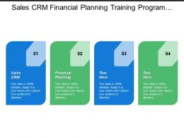 Sales Crm Financial Planning Training Program Code Ethics