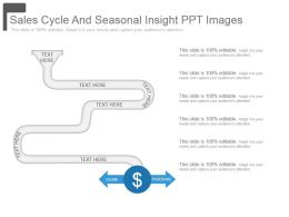 Sales Cycle And Seasonal Insight Ppt Images