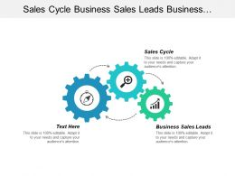 Sales Cycle Business Sales Leads Business Business Leads Cpb