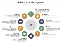Sales Cycle Management Ppt Powerpoint Presentation Ideas Skills Cpb
