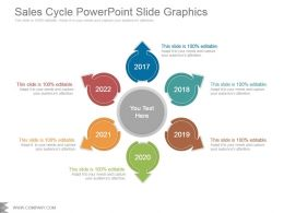Sales Cycle Powerpoint Slide Graphics