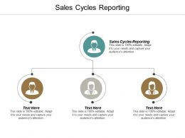 Sales Cycles Reporting Ppt Powerpoint Presentation Icon Show Cpb