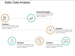 Sales Data Analysis Ppt Powerpoint Presentation Summary Guide Cpb