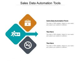 Sales Data Automation Tools Ppt Powerpoint Presentation Gallery Templates Cpb