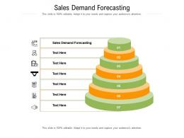 Sales Demand Forecasting Ppt Powerpoint Presentation Model Graphic Images Cpb