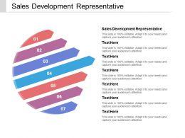 Sales Development Representative Ppt Powerpoint Presentation Outline Cpb