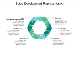 Sales Development Representative Ppt Powerpoint Presentation Visual Aids Ideas Cpb