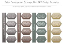 Sales Development Strategic Plan Ppt Design Templates