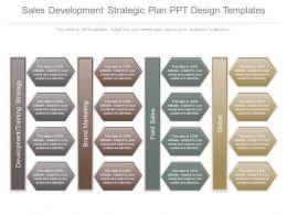 Sales Development Strategic Plan Ppt Design Templates