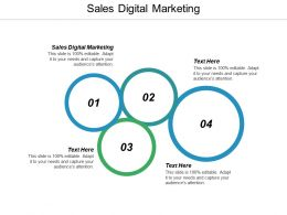 Sales Digital Marketing Ppt Powerpoint Presentation Infographic Template Examples Cpb