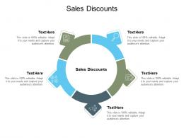 Sales Discounts Ppt Powerpoint Presentation Inspiration Icon Cpb