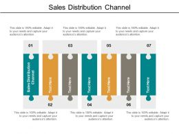 Sales Distribution Channel Ppt Powerpoint Presentation Inspiration Infographic Template Cpb