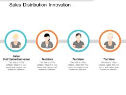 Sales Distribution Innovation Ppt Powerpoint Presentation Infographic Template Picture Cpb