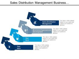 Sales Distribution Management Business Organizational Development Hr Planning Cpb