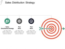 Sales Distribution Strategy Ppt Powerpoint Presentation Inspiration Professional Cpb