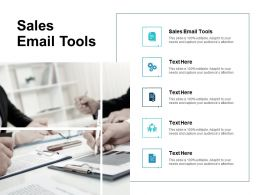 Sales Email Tools Ppt Powerpoint Presentation Infographics Slides Cpb