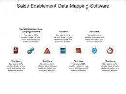 Sales Enablement Data Mapping Software Ppt Powerpoint Presentation Infographic Template Information Cpb