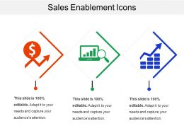Sales Enablement Icon