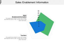 Sales Enablement Information Ppt Powerpoint Presentation Slides Skills Cpb