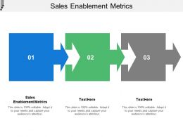 Sales Enablement Metrics Ppt Powerpoint Presentation Slides Portrait Cpb