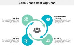 Sales Enablement Org Chart Ppt Powerpoint Presentation Slides Skills Cpb