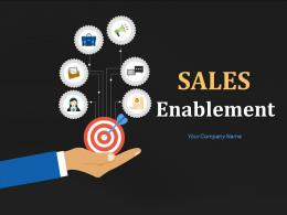 Sales Enablement Powerpoint Presentation Slides