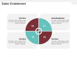 Sales Enablement Ppt Powerpoint Presentation Gallery Topics Cpb