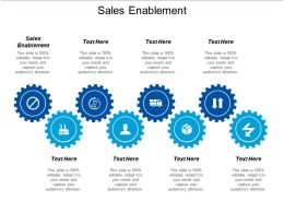 Sales Enablement Ppt Powerpoint Presentation Slides Mockup Cpb
