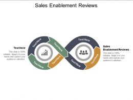 Sales Enablement Reviews Ppt Powerpoint Presentation Outline Portrait Cpb