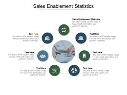 Sales Enablement Statistics Ppt Powerpoint Presentation Professional Cpb