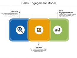 Sales Engagement Model Ppt Powerpoint Presentation Portfolio Example Topics Cpb