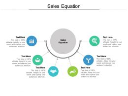 Sales Equation Ppt Powerpoint Presentation Ideas Graphics Pictures Cpb