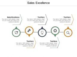 Sales Excellence Ppt Powerpoint Presentation Portfolio Elements Cpb