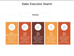 Sales Executive Search Ppt Powerpoint Presentation Gallery Graphics Pictures Cpb