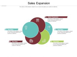 Sales Expansion Ppt Powerpoint Presentation Pictures Graphics Download Cpb