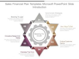 Sales Financial Plan Templates Microsoft Powerpoint Slide Introduction