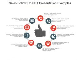 Sales Follow Up Ppt Presentation Examples
