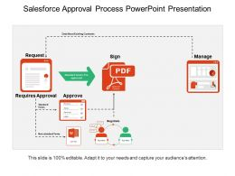 Sales Force Approval Process Powerpoint Presentation