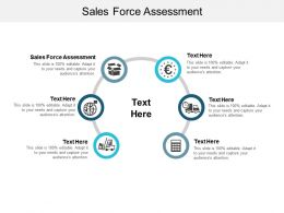 Sales Force Assessment Ppt Powerpoint Presentation Icon Graphics Tutorials Cpb