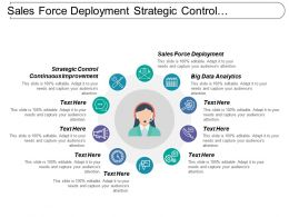 Sales Force Deployment Strategic Control Continuous Improvement Internal Analysis