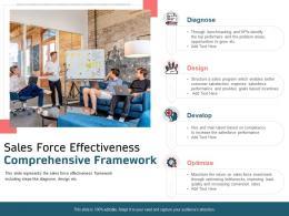 Sales Force Effectiveness Comprehensive Framework