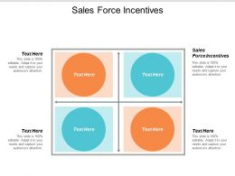 Sales Force Incentives Ppt Powerpoint Presentation Professional Designs Cpb