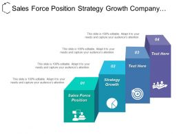 Sales Force Position Strategy Growth Company Mission External Analysis