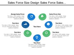 Sales Force Size Design Sales Force Sales Infrastructure