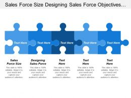 Sales Force Size Designing Sales Force Objectives Strategy